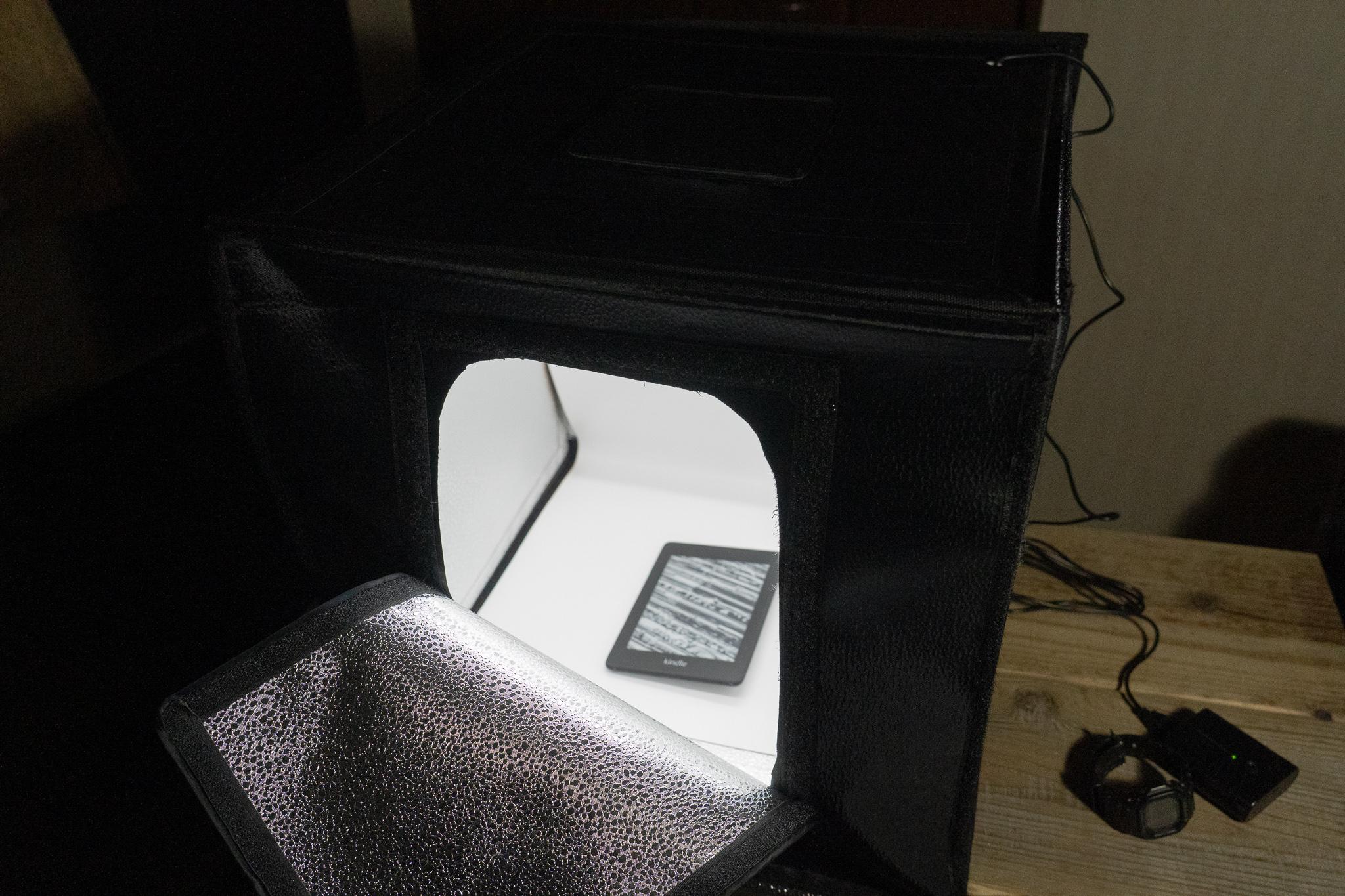 【小物の撮影にはうってつけ】HAKUBA 撮影ボックスをレビューする