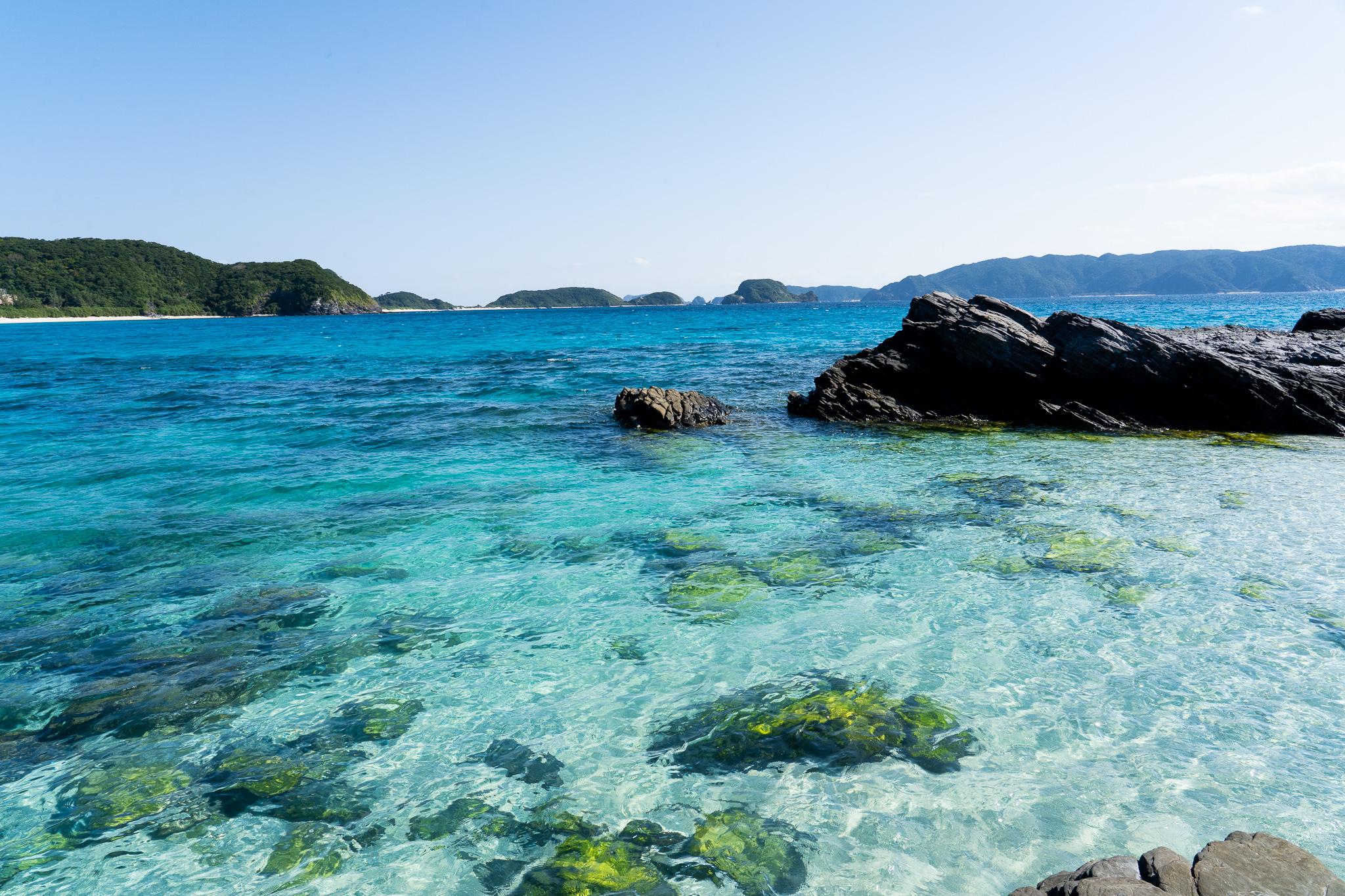 ケラマブルーを見に行ったら、悩み事とかどうでもよくなった話@沖縄「古座間味ビーチ」